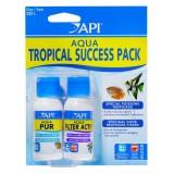 API AQUA Success Pack Tropical - Conditionneur et bactéries pour aquarium