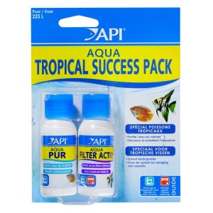 API AQUA Success Pack Tropical - Conditionneur et bactéries pour aquarium