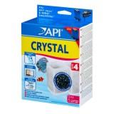 API Crystal 4 (x2) pour filtre RENA nexx