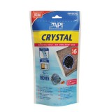 API Crystal 6 pour une eau limpide de l'aquarium