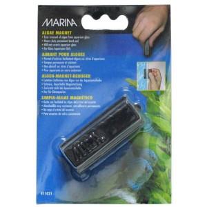 MARINA Aimant Lave-vitre Medium pour aquarium