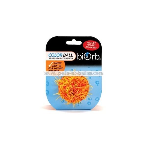 Reef one easyplant boule orange plante artificielle pour for Acheter aquarium boule