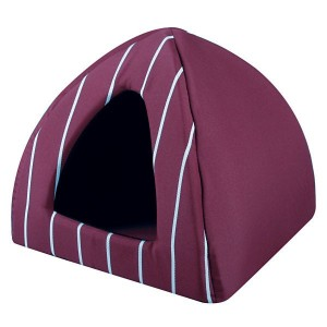 ZOLUX Auckland Igloo Bordeaux pour chat