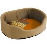 ROADSIGN Corbeille Beige/Orange pour chien