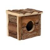 LIVING WORLD Cabane en bois pour petits rongeurs