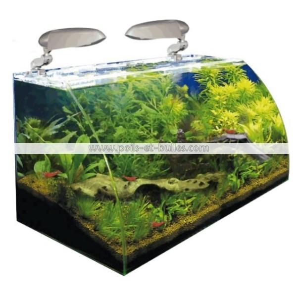 Aquarium eau douce box vision 30 cm wave for Nano aquarium eau douce