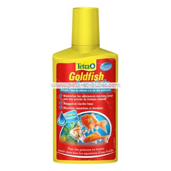 Tetra goldfish aquasafe conditionneur d 39 eau pour poisson for Poisson tetra rouge