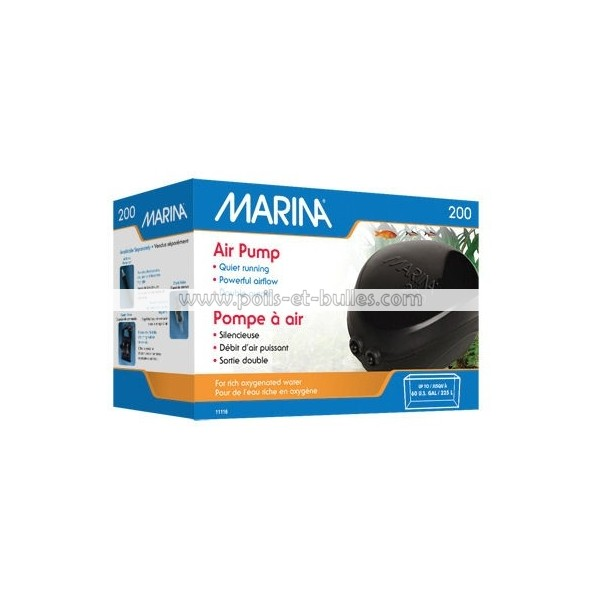 Marina pompe air pour aquarium for Pompe pour aquarium