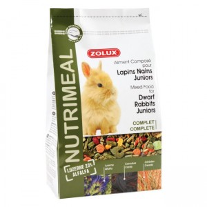 Aliment ZOLUX NutriMeal Lapin Nain Junior