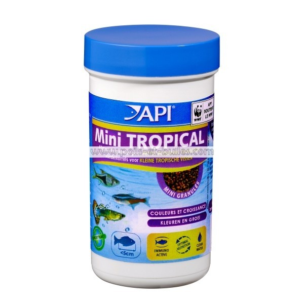 Api tropical mini granul s aliment pour petits poissons for Aliment pour poisson