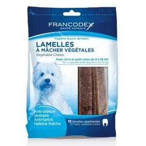 FRANCODEX Lamelles à mâcher chiot / petit chien