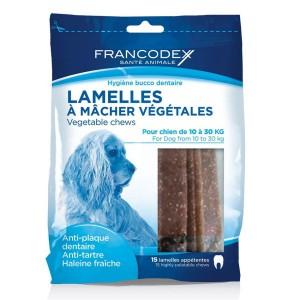 FRANCODEX Lamelles à mâcher chien